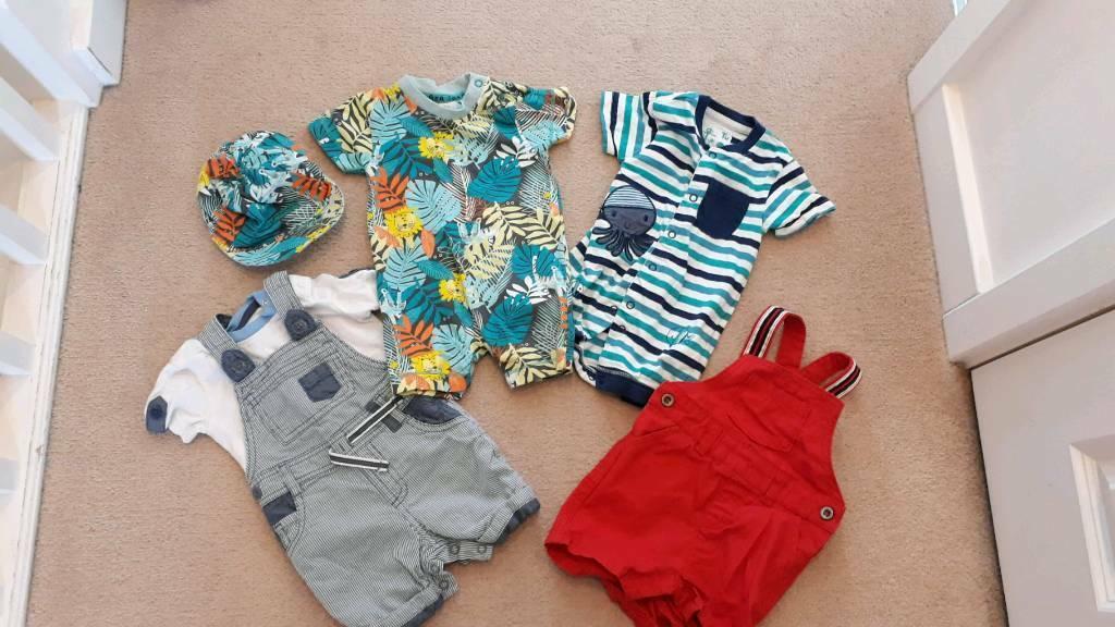 3400dffbe707 0 to 3 baby boy clothing bundle