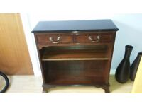 Mahogany book cases / coffee/occasional table