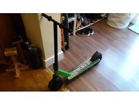 Off road dirt micro scooter green