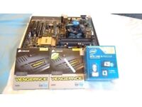 Working mid-high end PC Parts (CPU, RAM, Motherboard) - with Overclocking and SLI, ideal for gaming.