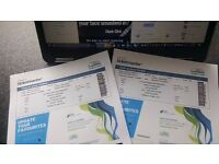 Two Mickey Flanagan tickets for tonight's show at the Hydro, Glasgow
