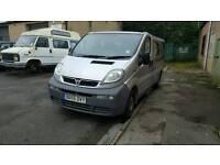 Vauxhall vivaro minibus with disabled access