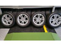 BMW Genuine 18 alloy wheels 4 x tyres 245 50 18