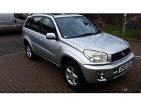 2003 Toyota RAV4 2.0 VVT-i VX Station Wagon 5dr Full Service History @07445775115@