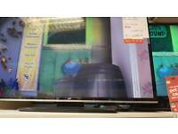"""JVC 40"""" smart tv with remote"""