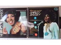 2 LPs by Shirley Bassey - Nobody Does It Like Me and What Now My Love