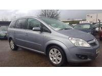 VAUXHALL ZAFIRA 1.9 CDTI 120 DESIGN 6 SPEED 7 SEATER 2009 / FULL SERVICE HISTORY / 2 KEEPERS /2 KEYS