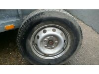 215/75/16 Tyres and wheel