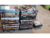 36 dvds including alien boxset , 6Cds , 1 xbox game and 1 pc game