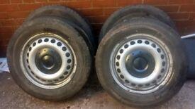 VW T5 Wheels & Tyres