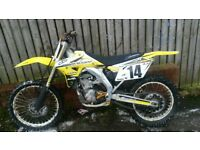 SUZUKI RMZ 450 RACE TUNED MAY SWAP PX CAR