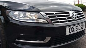VW PAssat CC 2016 2.O TDI BLUE MOTION ...XENON LIGHT - LITTLE DAMAGE!!!