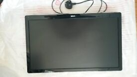 Logik L24FED12A HD ready 1080p LED iDTV Combo-TV/DVD-FOR PARTS or REPAIR