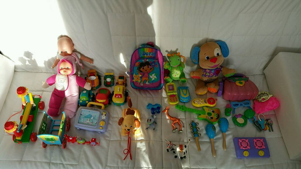 Bag of Young Kids Toys - 30 plus items - only £5