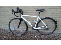 Kinesis winter traing bike. Also suitable for commuting and touring.