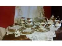 Royal Albert 30pieces Tea Set