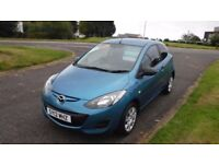 MAZDA 2 1.3 TS 2012,Electric Windows,Remote Central Locking,Air Con,£30 Road Tax,Very Clean Example