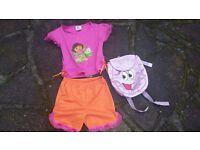 Dora the Explorer fancy dress costume Years 5-7