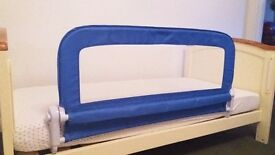 Mothercare toddler bed guard.