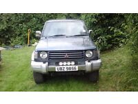 Mitsubishi Pajero for spares or repair starts and runs ok but needs battery disconnected to stop