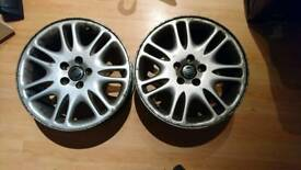 "17"" volvo alloy wheels"