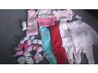 baby girls clotges bundle newborn/0-3