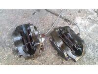 mini /metro ap 4 pot front brakes