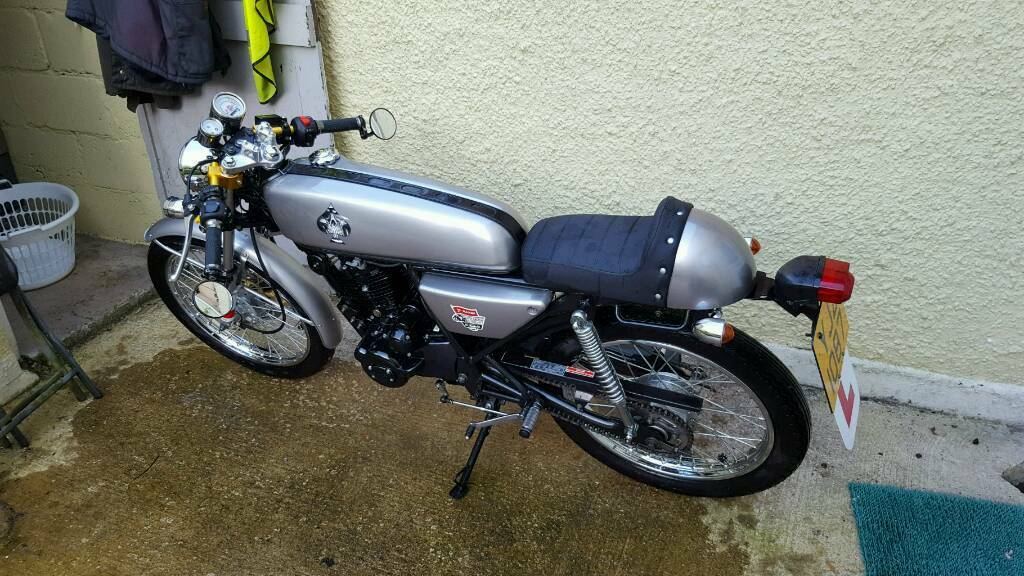 skyteam ace 125 cafe racer in omagh county tyrone. Black Bedroom Furniture Sets. Home Design Ideas
