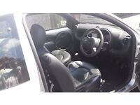 Ford KA, mot run out this month, 04 plate, alloy wheels, black leather seats, electric windows,