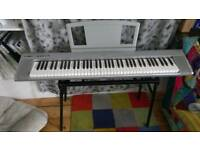 Yamaha Grand Piano NP30 Keyboard with music rest, stand, power supply and pedal