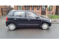 Suzuki Alto, reliable, cheap to run and insure £30/year road tax