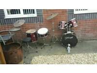 STAGG drum kit basic setup