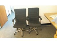 2 Office Chairs Very Good Condition