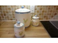 Bread Bin and canisters