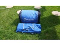 Outwell indiana 8 in used condition all parts in!got also other camping gear!can deliver or post!
