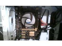 Motherboard CPU RAM and cooler bundle