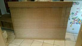 Bamboo Wooden Roman Blind Large