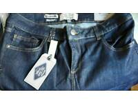 NEW FAT FACE LADIES JEANS SIZE 14