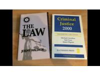Law books!!! Two really useful Law books!!