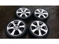 Replica BMW 18'' Alloys with Great Tyres