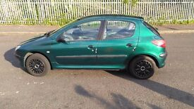 Peugeot 206 1.4 5 Door Hatchback (AC)