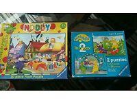 Noddy & Teletubbies jigsaws