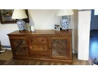 John Lewis Solid Wood Maharani Sideboard