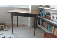 Folding side table - antique Edwardian
