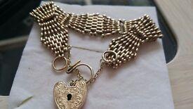 9ct bracelet 28.4 grams