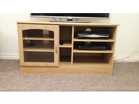 Wooden TV stand unit