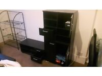 3 PIECE MEDIA SET / LIVING ROOM FURNITURE GREAT CONDITION, DISCOUNTED PRICE
