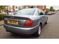 Audi A4 2.6 automatic low mil 61 £1100