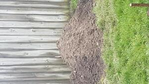 dirt for free! 3 yards