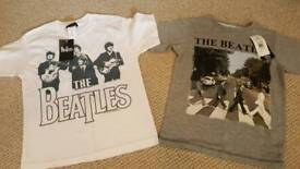 Beatles t-shirts. Brand new with tags
